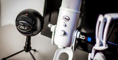 Juego de micrófonos