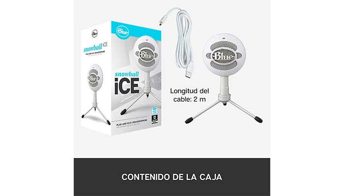 Micrófono Blue Snowball Ice