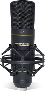 Micrófono Marantz Professional Modelo MPM-2000U